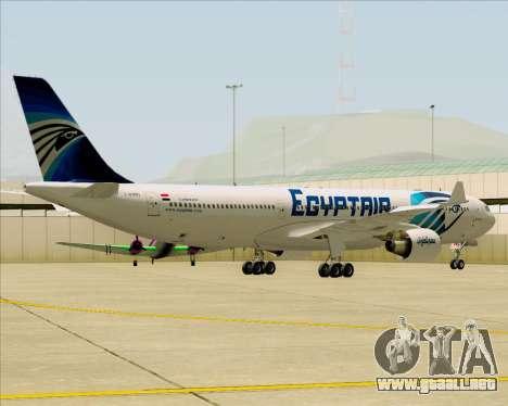Airbus A330-300 EgyptAir para visión interna GTA San Andreas