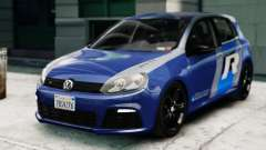 Volkswagen Golf R 2010 ABT Paintjob para GTA 4