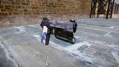 Pistola De Kimber 1911 Azul Tigre