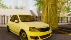 Dacia Logan White para GTA San Andreas