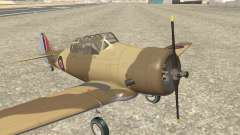 North American T-6 TEXAN AJ838 para GTA San Andreas