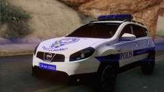 Nissan Qashqai TR de la POLICÍA