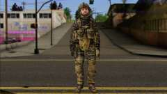 Task Force 141 (CoD: MW 2) Skin 8 para GTA San Andreas