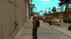 Negro en la mochila de Stalker para GTA San Andreas