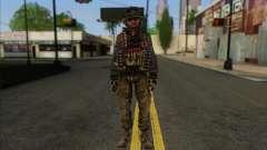 Task Force 141 (CoD: MW 2) Skin 10 para GTA San Andreas