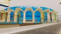 Nuevas texturas en el estadio de Los Santos