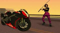 Aprilia RSV4 2009 Edition I para GTA Vice City