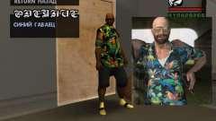 Camisa hawaiana como max Payne para GTA San Andreas