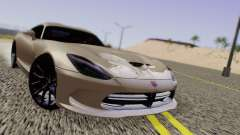 Dodge Viper SRT GTS 2013 Road version para GTA San Andreas