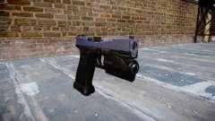 Pistola Glock 20 blue tiger