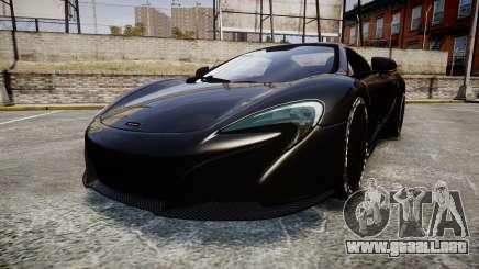 McLaren 650S Spider 2014 [EPM] Goodyear para GTA 4