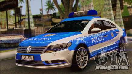 Volkswagen Passat CC Polizei 2013 v1.0 para GTA San Andreas
