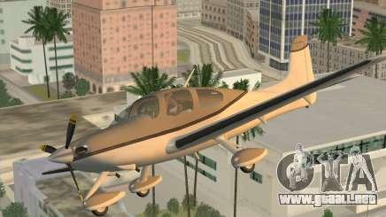 Cirrus SR-22 para GTA San Andreas