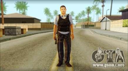 Un oficial de policía de la CT SC: la Condena para GTA San Andreas