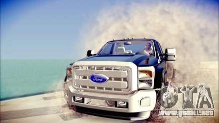 Ford F450 Super Duty 2013 HD para GTA San Andreas