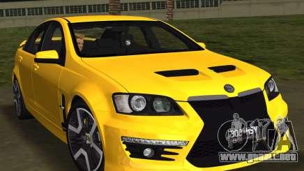 Holden HSV GTS 2011 para GTA Vice City