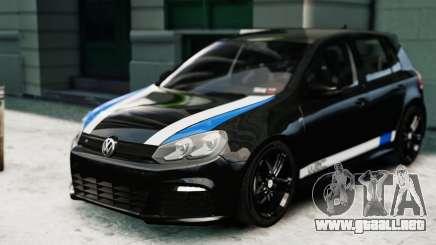 Volkswagen Golf R 2010 Polo WRC Style PJ1 para GTA 4