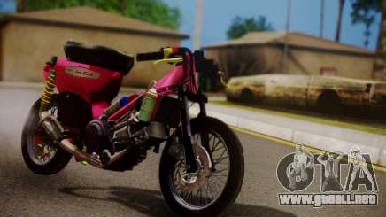 Super Cub Drag para GTA San Andreas