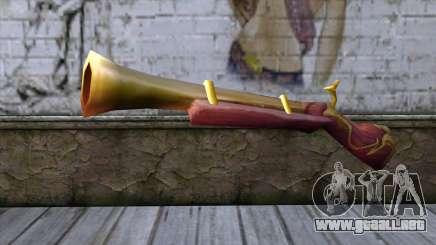 World of Warcraft Shotgun para GTA San Andreas