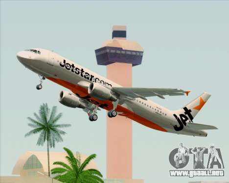 Airbus A320-200 Jetstar Airways para GTA San Andreas