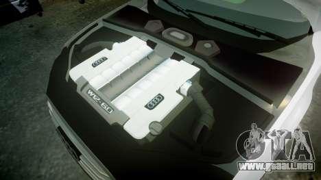 Audi A8 Limousine para GTA 4 vista lateral