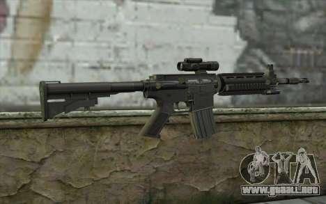 M4 Stuffed para GTA San Andreas segunda pantalla