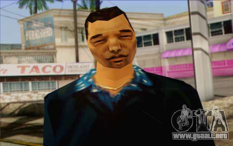 Yakuza from GTA Vice City Skin 2 para GTA San Andreas tercera pantalla