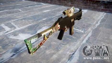 Pistola de UMP45 Ronin para GTA 4 segundos de pantalla