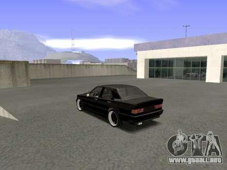Mercedes-Benz 190E 3.2 AMG para GTA San Andreas vista posterior izquierda