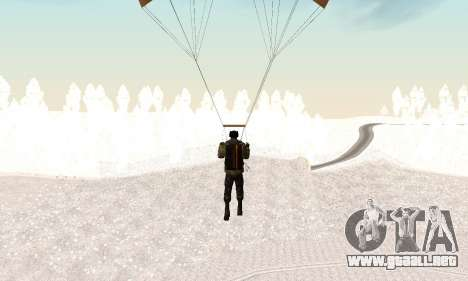New parachute para GTA San Andreas sucesivamente de pantalla