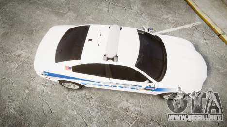 Dodge Charger RT 2013 PS Police [ELS] para GTA 4 visión correcta