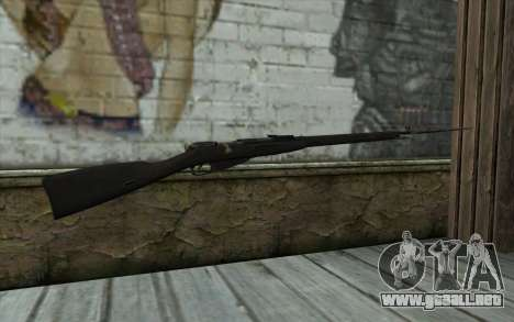 Mosin-v10 para GTA San Andreas segunda pantalla