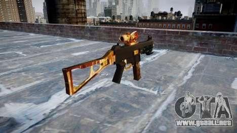 Pistola de UMP45 de Élite para GTA 4 segundos de pantalla