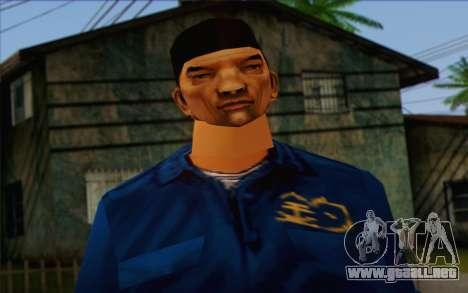Triada from GTA Vice City Skin 2 para GTA San Andreas tercera pantalla