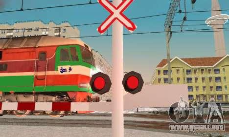 Nuevas texturas para el tráfico ferroviario para GTA San Andreas segunda pantalla