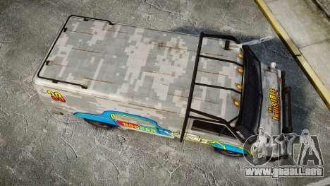 Kessler Stowaway Hooker Headers para GTA 4 visión correcta