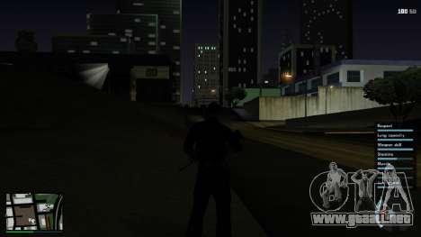 GTA V HUD para GTA San Andreas sucesivamente de pantalla