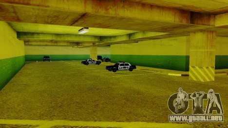 Vehículos nuevos en el LVPD para GTA San Andreas tercera pantalla