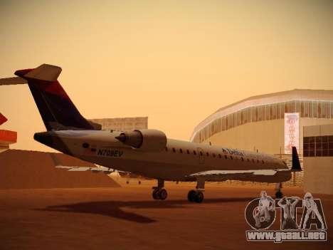 Bombardier CRJ-700 Delta Connection para la visión correcta GTA San Andreas