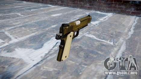 Pistola de Kimber KDW para GTA 4 segundos de pantalla