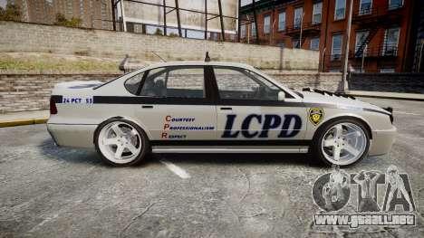 Declasse Merit Police Patrol Speed Enforcement para GTA 4 left