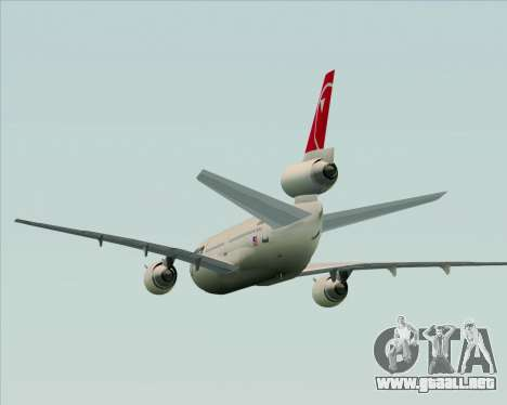 McDonnell Douglas DC-10-30 Northwest Airlines para GTA San Andreas