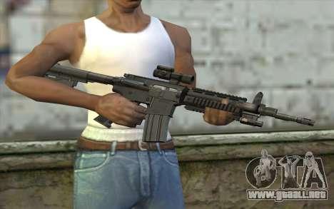 M4 Stuffed para GTA San Andreas tercera pantalla