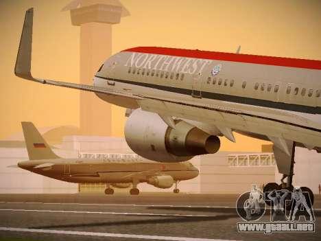 Boeing 757-251 Northwest Airlines para GTA San Andreas