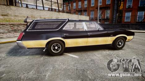 Oldsmobile Vista Cruiser 1972 Rims2 Tree1 para GTA 4 left