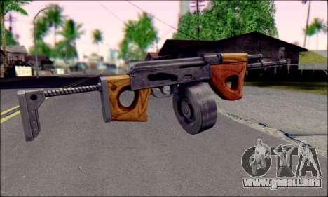 Importado AK para GTA San Andreas segunda pantalla