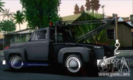 GTA 5 Towtruck para GTA San Andreas left