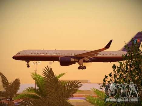 Boeing 757-224 United Airlines para visión interna GTA San Andreas