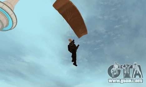 New parachute para GTA San Andreas quinta pantalla