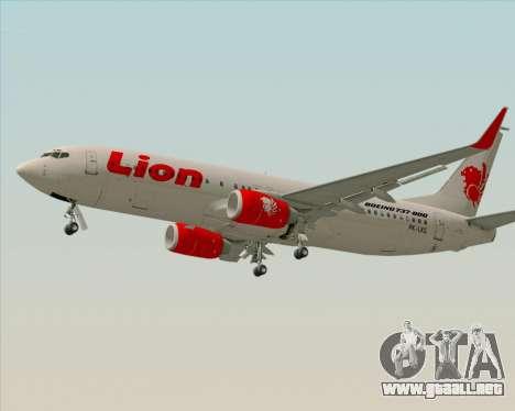 Boeing 737-800 Lion Air para GTA San Andreas left